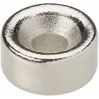N-35 Permanent magnet Ring N35 1.21 T Temperature limit (max.): 80 °C