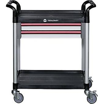 TOOLCRAFT 553941 Shelf trolley Colour:Black, White, Red