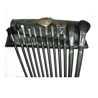 12 Pcs Luxury Professional Brush Set with Black Case