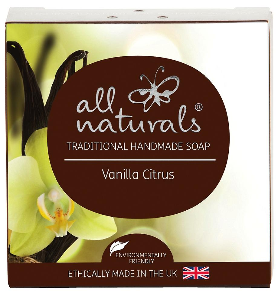 Todas Naturals jabón orgánico cítricos vainilla 100g