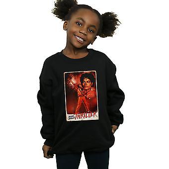 Michael Jackson meisjes Thriller houding Sweatshirt