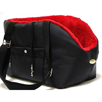 Orso piovoso Nero e Red Dog Carrier