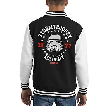 Varsity Jacket Accademia di formazione originale Stormtrooper capretto
