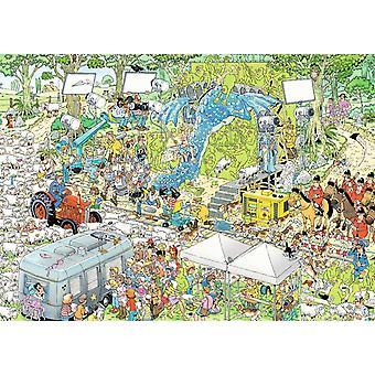 Jan Van Haasteren de Film Set Jigsaw puzzel (1000 stuks)