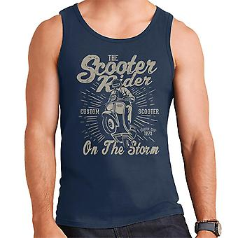 Scooter Rider On The Storm Men's Vest