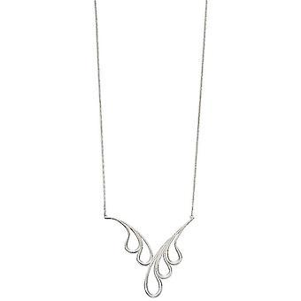Elementen zilveren Japanse Wave hanger - zilver