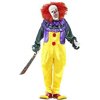 """Klasický hororový klaunský kostým, hrudník 46 """"-48"""""""