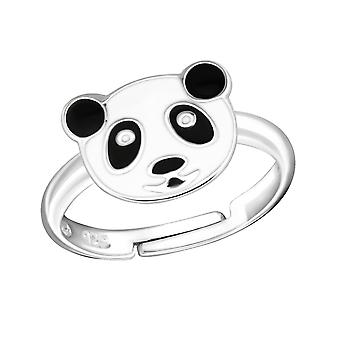 Panda - 925 Sterling hopea renkaat - W4808x