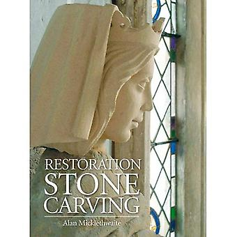 Restaurering sten Carving