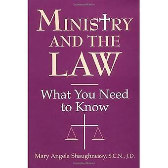 Ministère et la loi