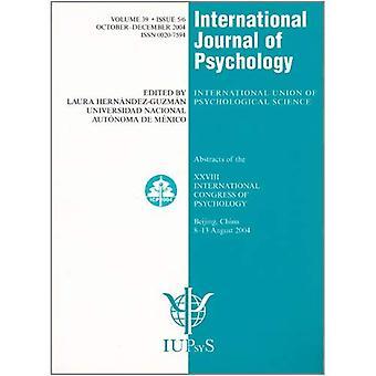 28 internationale congres voor de psychologie