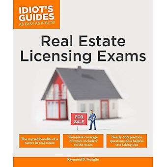 Real Estate Licensing Exams� (Idiot's Guides (Lifestyle))