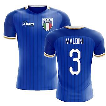 2020-2021 Italien Home Concept Fußball Trikot (Maldini 3)