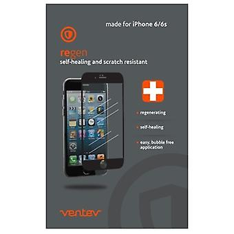 Ventev regen self-healing screen protector for Apple iPhone 6/6s - Clear Screen (Front Only)