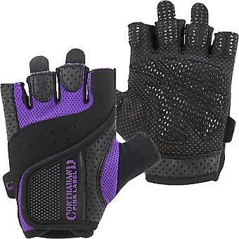 Contraband Sports 5137 Pink Label Weight Lifting Gloves - Purple