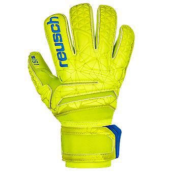Reusch Fit Control S1 Roll Finger Mens Goalkeeper Goalie Glove Lime