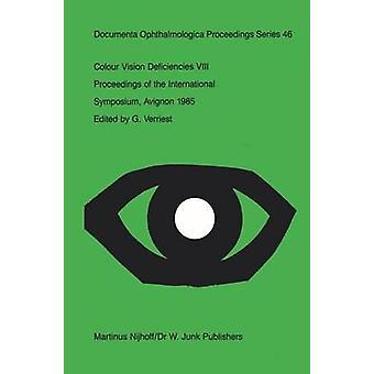 Farbe Vision Mängel VIII von Verriest & G.
