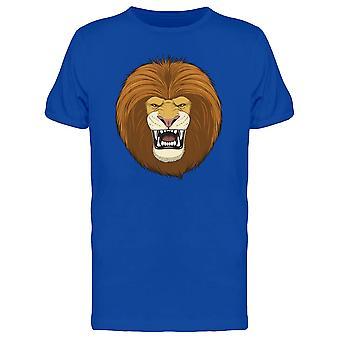 Head Of A Fierce Lion Tee Men's -Image by Shutterstock