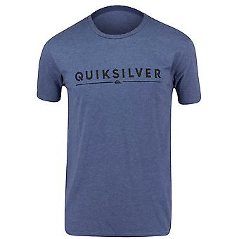 Quiksilver Mens Glassy T-Shirt - Heather Blue
