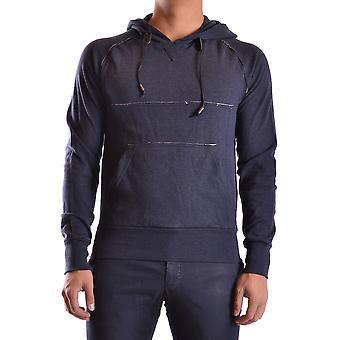 John Galliano Ezbc164033 Men's Blue Cotton Sweatshirt