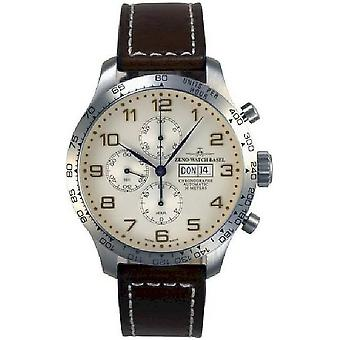 Zeno-watch mens watch OS tachymeter retro Chrono DD tachymeter 8557TVDDT-f2