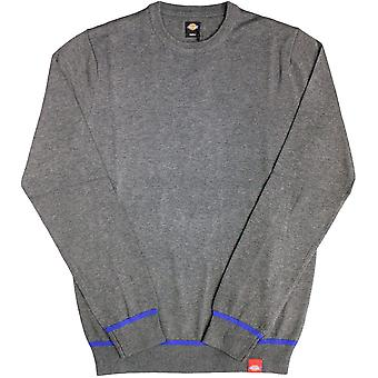 Dickes Auburn Knit Sweater Dark Grey Melange