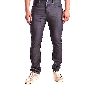John Galliano Ezbc189008 Men's Blue Denim Jeans