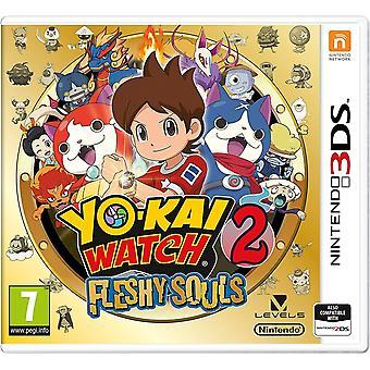 Yo-Kai horloge 2 vlezige zielen Nintendo 3DS spel (Duitse doos)