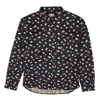Edwin Denim Classic Blue Allover Printed Shirt