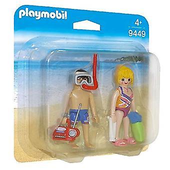 Playmobil 9449 familj Fun beachgoers Duo Pack