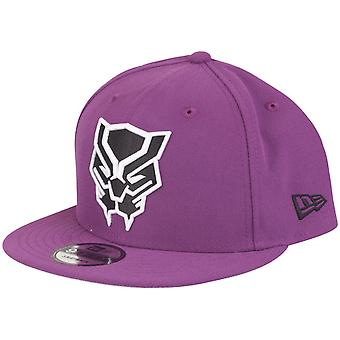 New Era 9Fifty Snapback Marvel Comics Cap - Black Panther