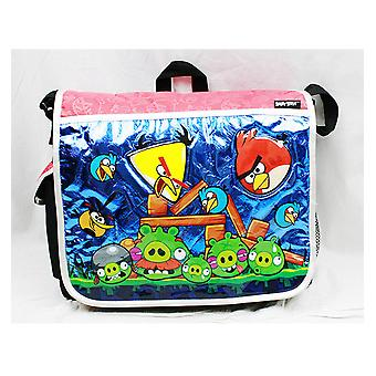 Bolsa de mensajero - Angry Birds - (Rojo) New School Book Bag an10862r