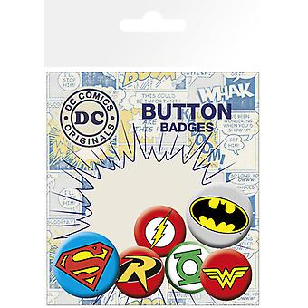 DC Comics logo Badge Pack