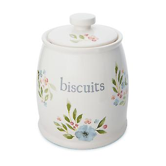 Cooksmart Country Floral Biscuit Canister