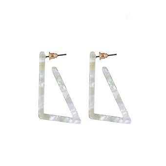 Jewelcity Sunkissed Womens/Ladies Edgy Triangular Earrings