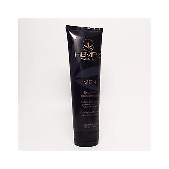 Hempz Men Exclusive Black Bronzer DHA Skin Tanning Hydrating Lotion - 265ml