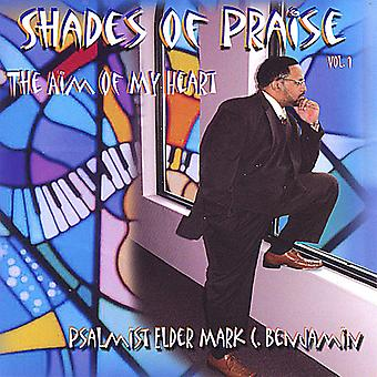 Benjamin, Mark C. Psalmist Elder - Benjamin, Mark C. Psalmist Elder: Vol. 1-Shades of Praise [CD] USA import