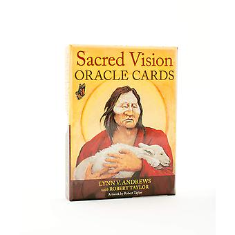 Cartes Oracle Sacred Vision 9781582706498