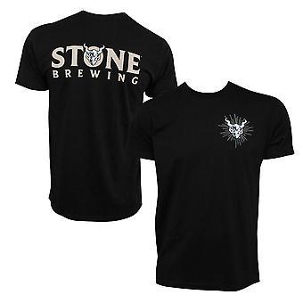 Stone Brewing Gargoyle Logo Black Men-apos;s T-Shirt