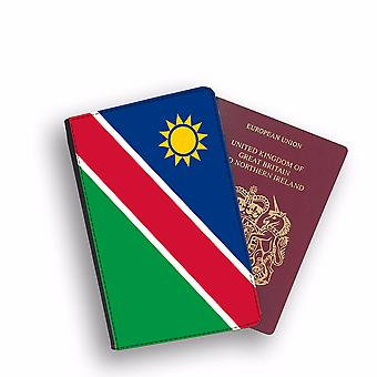 NAMIBIA Flag Passport Holder Style Case Cover Protective Wallet Flags design