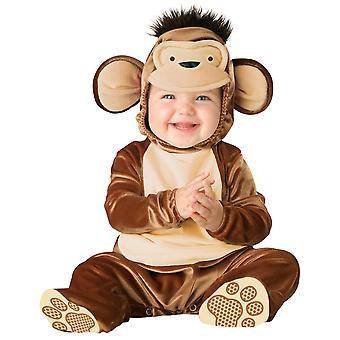 Mischievous Monkey Wild Animal Book Week Toddler Boys Costume