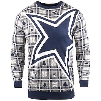 NFL Ugly Sweater XMAS Knit Sweater - Dallas Cowboys