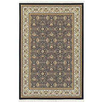 Masterpiece 1331b navy/ ivory indoor area rug rectangle 6'7