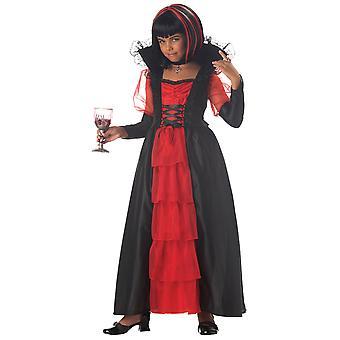 Regal Vampira Vampiress Vampire Gothic Twilight Halloween kind meisjes kostuum