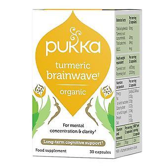 Pukka Turmeric Brainwave Cápsulas 30