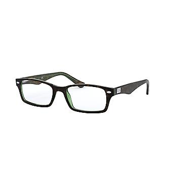 Ray-Ban RB5206 2445 Havana Green Glasses