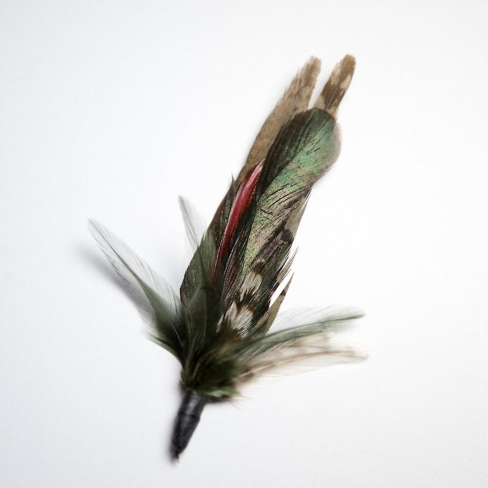 Elm Of Burford Traditional Game Feather Hat Mount