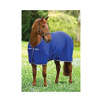 Amigo Jersey Pony Cooler Rug - Albastru-Atlantic/fildeș