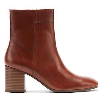 Vagabond Nicole Womens Cinnamon Brown Leather Boots