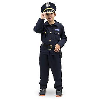 Plucky Police Officer Children's Costume, 10-12